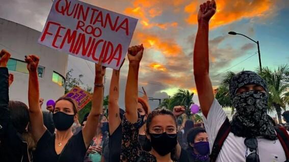 periodista que cubria manifestacion de feministas y que fue herida de bala cuenta como lo vivio