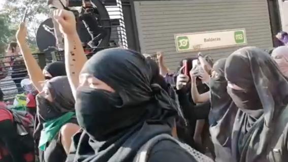 feministas fiscalia metrobus balderas justicia alexis
