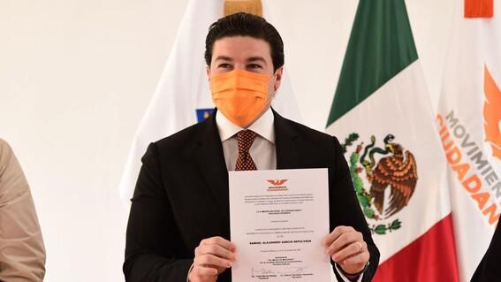 samuel garcia precandidato nuevo leon