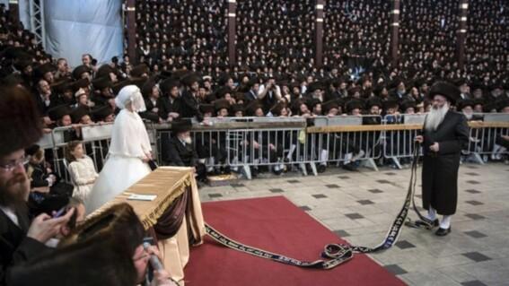 escandalo en eua por una boda judia con 7 mil invitados en plena pandemia