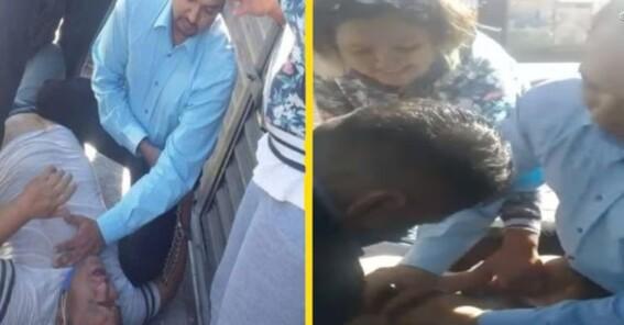 esposa del tamalero que murio durante arresto en celaya niega que haya muerto por un paro cardiaco