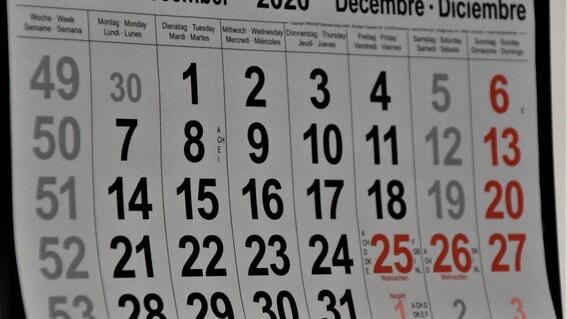 ¿cuales son los descansos obligatorios de mexico en diciembre