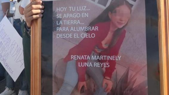 renata de 13 anos es asesinada en ixtapaluca; culpan al exnovio de su mama