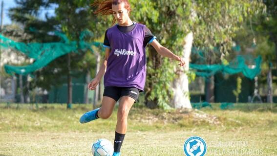 mara gomez jugadora trans futbol argentino