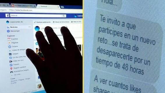 alertan autoridades sobre reto viral para desaparecer 48 horas