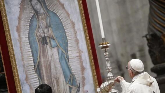 papa francisco perdona a quienes celebren a la virgen de guadalupe en casa