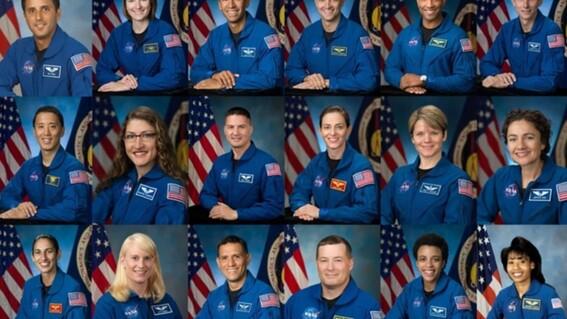 presentan a los astronautas que volveran a la luna con el programa artemis
