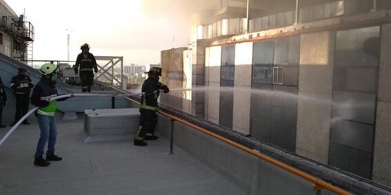 incendio metro cdmx testigos