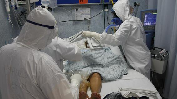 casos covid 22 enero contagios muertos