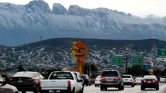 reportan apagon en el norte del pais por tormenta invernal