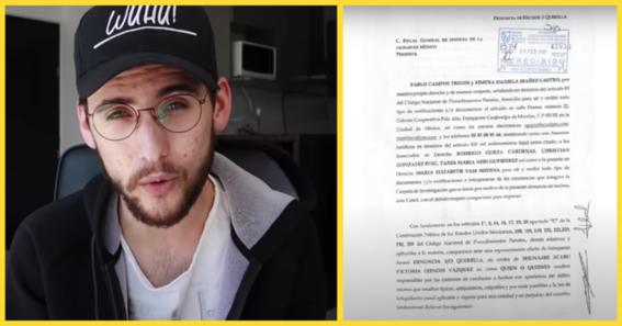pablo campos presenta denuncia para aclarar acusaciones de acoso en su contra