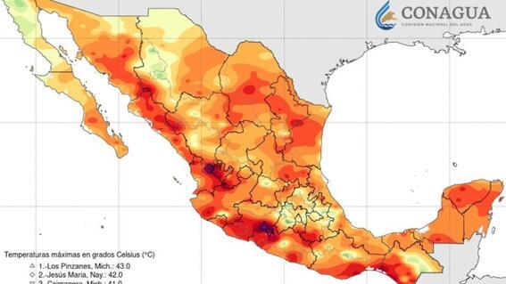 mexico se calienta mas rapido que el resto del planeta conagua
