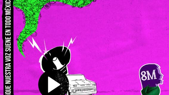 intervienen audio del 'fierro viejo' y hacen version feminista para el 8m