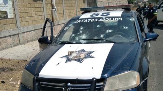 criminales emboscan y asesinan a 13 policias en coatepec harinas