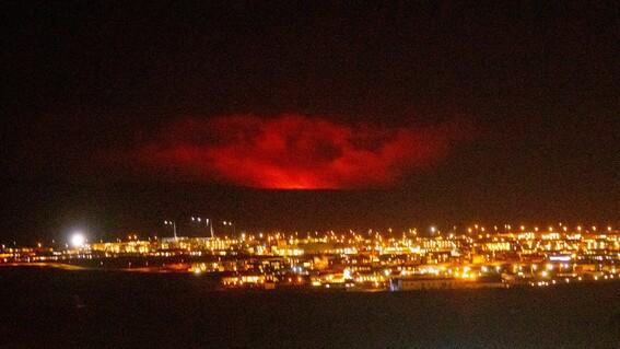 erupcion volcanica reykjavik islandia