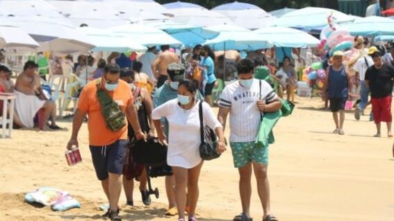 abarrotan turistas playas covid19