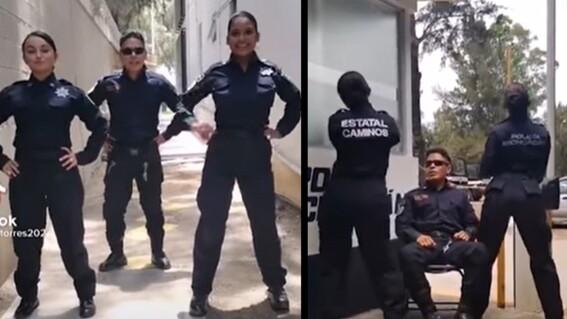 policias michoacan tiktok