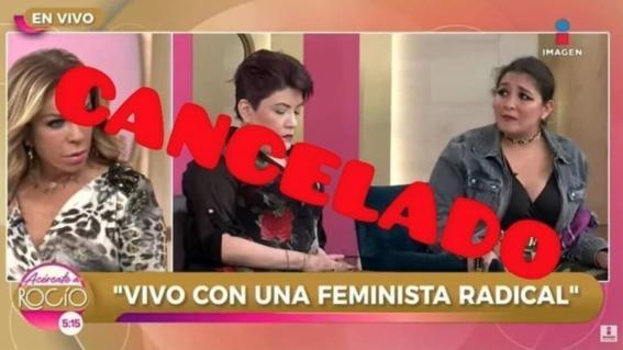 video ridiculizan a feministas radicales en programa rocio sanchez azuara