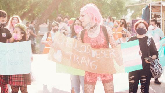 primera marcha trans lgbt monterrey