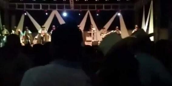 video '¡tirate tirate' balacera en un baile patronal de michoacan deja cuatro muertos