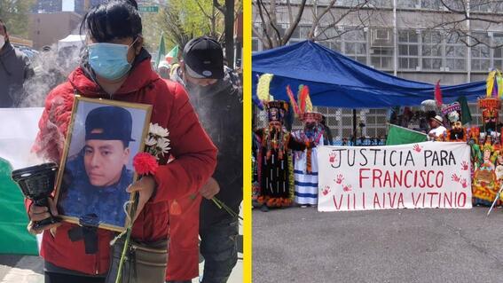 quitan la vida con tres balazos a repartidor indigena mexicano en ny