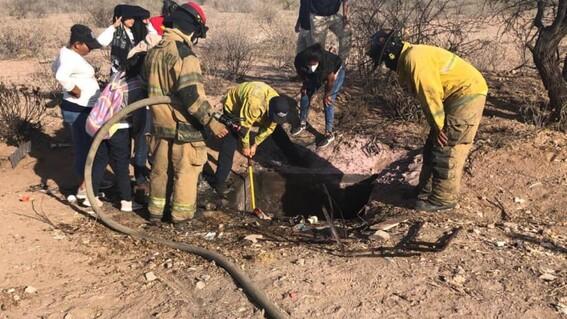madres buscadoras de sonora encuentran fosa clandestina con cuerpos aun ardiendo