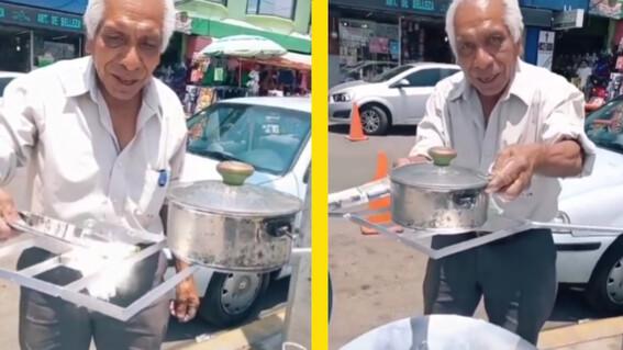 abuelito de 71 anos inventa estufa solar con material reciclado