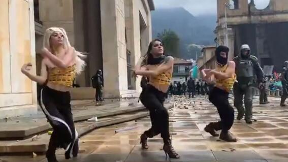 baile vogue paro nacional colombia