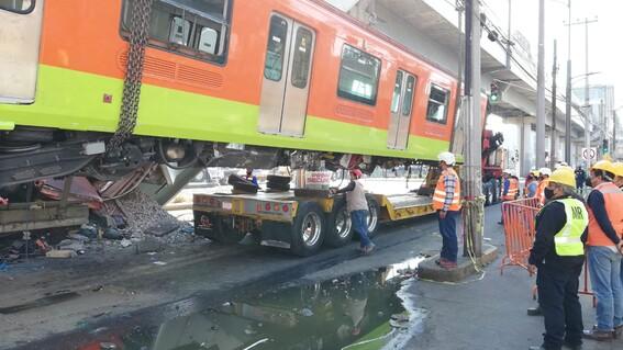 metro retiro primer vagon l12