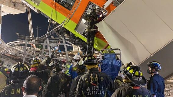 amlo decreta duelo nacional de tres dias por accidente metro