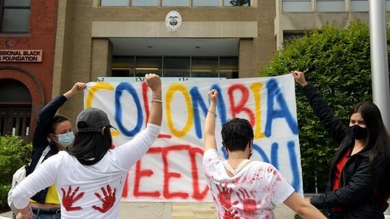 colombia desaparecidos manifestaciones paro nacional