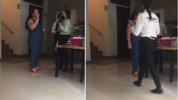 video ladycomegratis mujer lleva comer y se va sin pagar