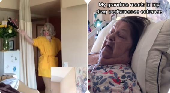 drag queen abuela hospital