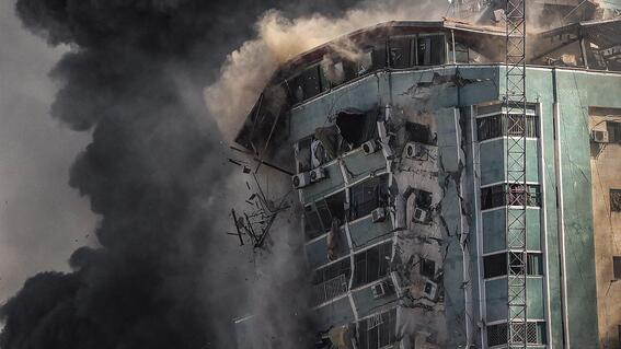 edificio ap afp al jazeera gaza