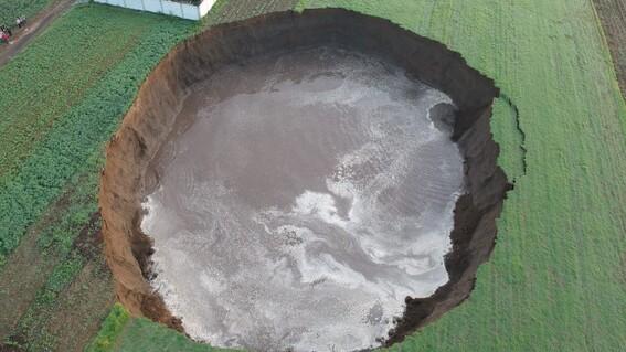 puebla socavon falla geologica