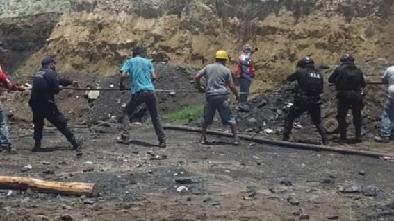 mineros atrapados coahuila