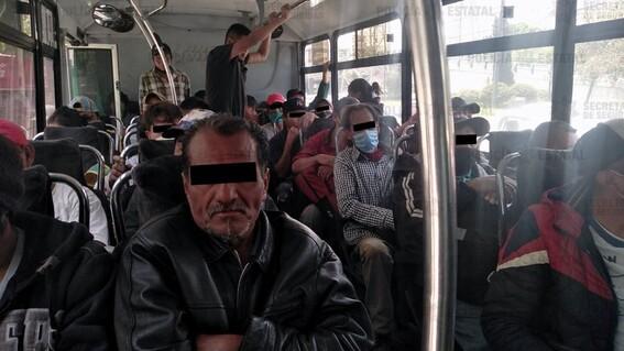 grupo choque edomex naucalpan detenidos