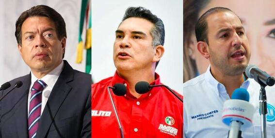 prd pan pri morena elecciones 2021
