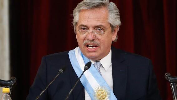 video mexicanos vienen indios dice presidente argentino alberto fernandez
