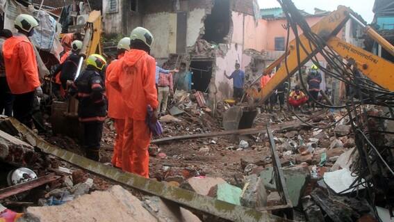 video once muertos ocho de ellos ninos tras el derrumbe de un edificio en la india