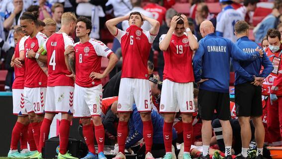 christian eriksen desvanecerse dinamarca finlandia euro eurocopa