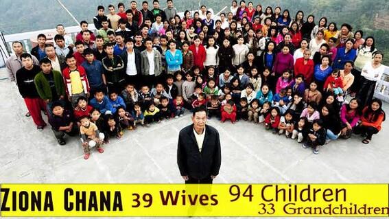 muere famoso poligamos con 39 esposas y 127 hijos y nietos