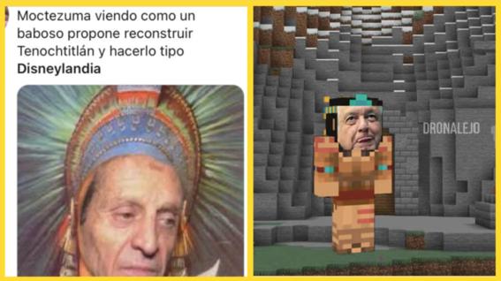 memes disneylandia mexico tenochtitlan