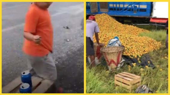 nino naranja naranjas moneda diez pesos rapina trailer