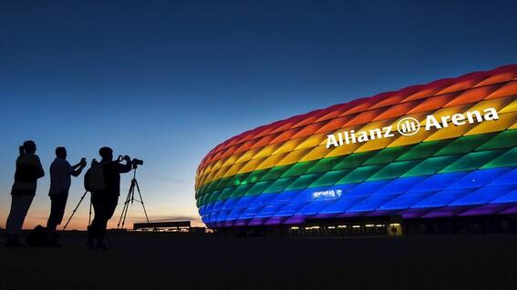 uefa rechaza peticion para iluminar estadio con colores de la bandera lgbt
