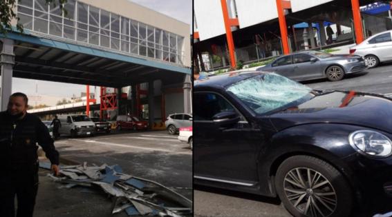 cae estructura metro villa de cortes y dana autos