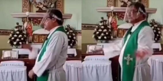 balacera misa sacerdote iguala fieles iglesia sermon