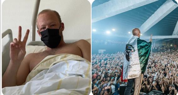 hospitalizan a boris brejcha dj aleman abarroto gira naucalpan gdl