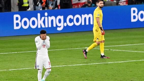 racismo jugadores ingleses final euro inglaterra