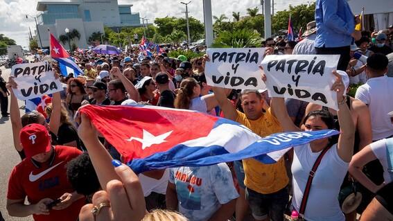 protestas cuba libertad gobierno crisis